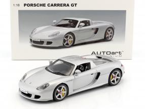 AUTOart Porsche Carrera GT silver 1:18
