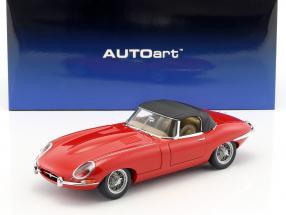 Jaguar E-Type Roadster Series I 3.8 carmen rot / carmen red 1:18 AutoArt