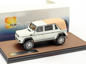 Mercedes-Benz Maybach G650 Landaulet Closed Version year 2017 white metallic 1:43 GLM