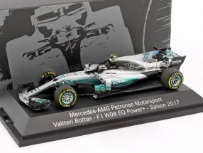 Valtteri Bottas Mercedes F1 W08 EQ Power+ #77 Formel 1 2017 1:43 Minichamps