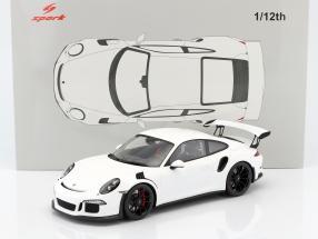 Porsche 911 (991) GT3 RS year 2016 white 1:12 Spark