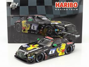 Mercedes-Benz AMG GT3 #8 9th 24h Nürburgring 2017 Haribo Racing Team 1:18 Spark
