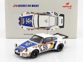 Porsche 911 Carrera RSR #55 24h LeMans 1975 Ballot-Lena, Bienvenue 1:18 Spark
