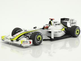 Jenson Button Brawn BGP 001 #22 World Champion Formel 1 2009 1:18 Minichamps