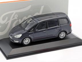 Ford Galaxy year 2006 anthracite 1:43 Minichamps