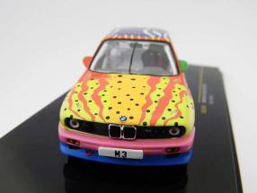 BMW M3 E30 group A Ken Done BMW Art Car 1:43 Ixo