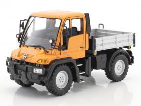 Mercedes-Benz Unimog orange / grau / schwarz 1:32 Welly