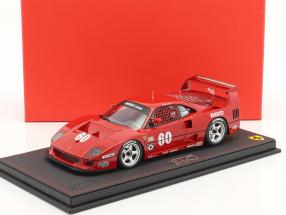 Ferrari F40 LM #60 IMSA 1990 Jean Alesi 1:18 BBR