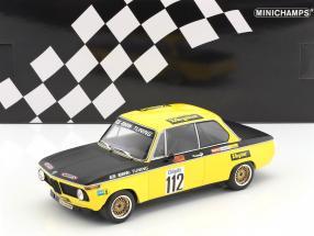 BMW 2002 #112 winner Int. ADAC Airfield race Diepholz DRM 1972 Dieter Basche 1:18 Minichamps