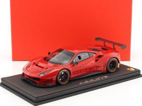 Ferrari 488 GT3 Baujahr 2016 rot mit Vitrine 1:18 BBR