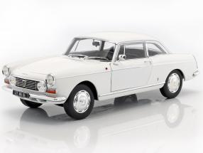 Peugeot 404 Coupe year 1967 white 1:18 Norev
