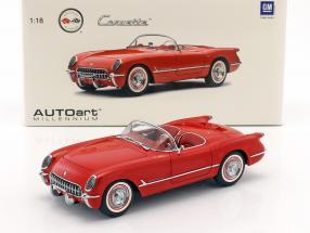 Chevrolet Corvette Year 1954 red 1:18 AUTOart