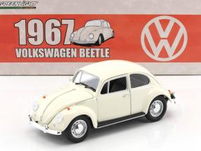 Volkswagen VW Käfer RHD Baujahr 1967 weiß 1:18 Greenlight