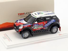 Mini All4 Racing #313 Rallye Dakar 2016 Garafulic, Palmeiro 1:43 TrueScale