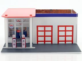 Vintage Gas Station Chevron Mechanic's Corner Series 2 1:64 Greenlight