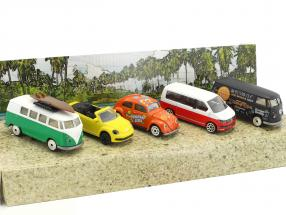 5-Car Set Volkswagen VW The Originals Geschenkset 1:64 Majorette