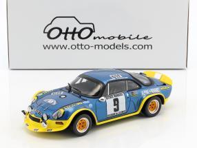 Alpine A110 Turbo #9 Winner Rallye Cevennes 1972 Therier, Callewaert 1:18 OttOmobile