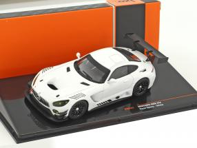 Mercedes-Benz AMG GT3 Race Version weiß 1:43 Ixo
