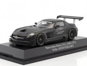 Mercedes-Benz SLS AMG GT3 45th Anniversary dunkelgrau metallic 1:43 Minichamps