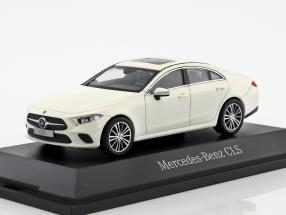 Mercedes-Benz CLS coupe (C257) year 2018 designo diamond White 1:43 Norev