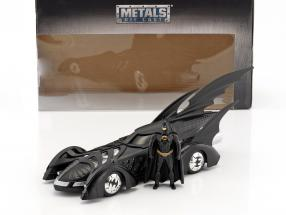 Batmobile Movie Batman Forever (1995) black With figure Batman 1:24 Jada Toys