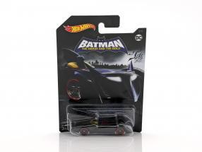 Batmobile DC Comics The Brave and the Bold black 1:64 HotWheels
