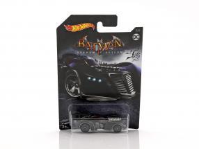 Batmobile DC Comics video game Arkham Asylum black 1:64 HotWheels