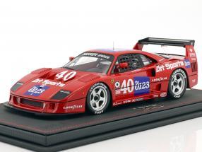 Ferrari F40 LM #40 IMSA Topeka 1990 Schlesser, Jabouille 1:18 BBR