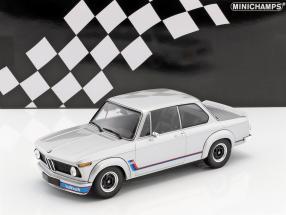 BMW 2002 Turbo Baujahr 1973 silber 1:18 Minichamps