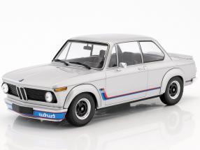 BMW 2002 Turbo year 1973 silver 1:18 Minichamps