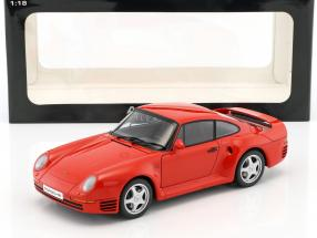 Porsche 959 red Year 1986 1:18 AUTOart