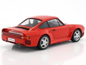 Porsche 959 red Year 1986