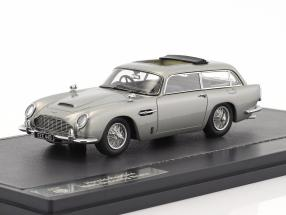 Aston Martin DB5 Shooting Brake Harold Radford year 1964 silver metallic 1:43 Matrix