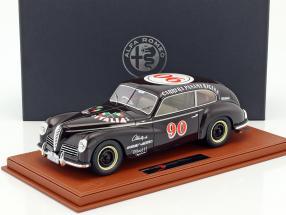 Alfa Romeo 6C 2500 Freccia D'Oro #90 Carrera Panamericana 1950 Taruffi, Ceroli mit Vitrine 1:18 BBR