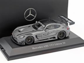 Mercedes-Benz AMG GT3 Edition 50 years gray metallic 1:43 Minichamps