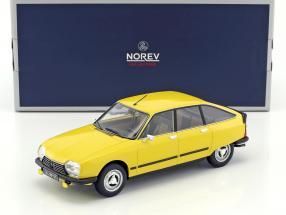 Citroen GS X3 Baujahr 1979 gelb 1:18 Norev
