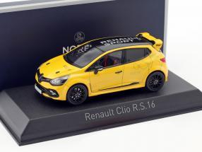 Renault Clio R.S. 16 Baujahr 2016 gelb 1:43 Norev