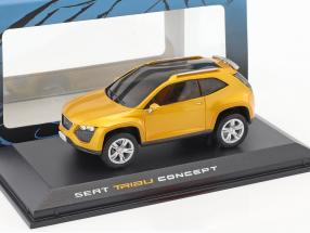 Seat Tribu Concept Car Baujahr 2007 orange metallic 1:43 Norev