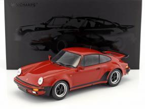 Porsche 911 (930) Turbo year 1977 peru red 1:12 Minichamps