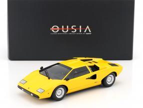 Lamborghini Countach LP400 gelb 1:18 Kyosho