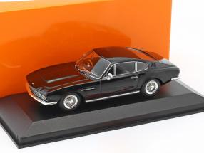 Aston Martin DBS Baujahr 1967 schwarz 1:43 Minichamps