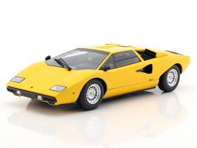 Lamborghini Countach LP400 yellow 1:18 Kyosho