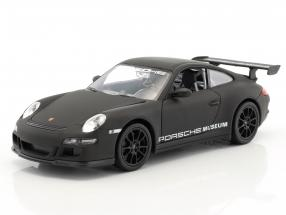 Porsche 911 (997) GT3 RS mat black 1:24 Welly
