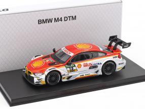 BMW M4 DTM #15 DTM 2017 Augusto Farfus BMW Team RMG 1:43 Herpa