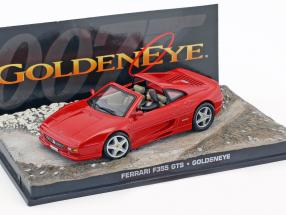 Ferrari F355 GTS James Bond movie Goldeneye Red Car 1:43 Ixo