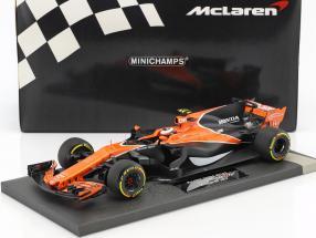 Stoffel Vandoorne McLaren MCL32 #2 China GP Formel 1 2017 1:18 Minichamps