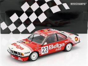 BMW 635 CSi #23 24h Spa 1985 Winkelhock, Regout, Gartner 1:18 Minichamps