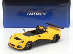 Lotus 3-Eleven Baujahr 2017 gelb 1:18 AUTOart