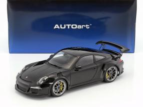 Porsche 911 (991) GT3 RS year 2016 black 1:18 AUTOart