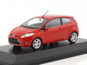 Ford Fiesta year 2011 red 1:43 Minichamps